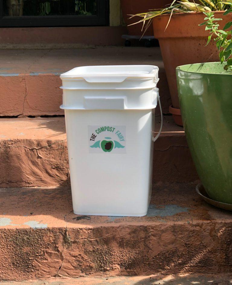 Compost Fairy Bucket Drop